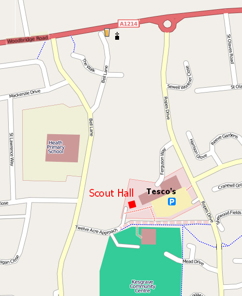 Scout Hall Location